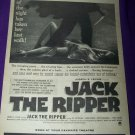 Vintage 1959 JACK RIPPER Lee Patterson Movie Print Ad