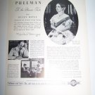 Vintage 1937 PULLMAN RAILROAD CAR Helen Hayes Print Ad