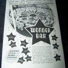 Vintage 1934 WONDER BAR Musical Al Jolson Film Print Ad