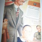 Vintage 1937 TIMELY CLOTHES Rochester NY Child Print Ad