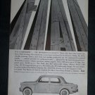 Vintage 1960 FIAT Interstate Grand Highway Ad