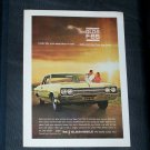 Vintage 1965 OLDSMOBILE F-85 Rocket Action Car Ad