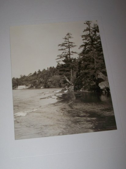 Vintage 1940s St. Lawrence River Shore Photograph Photo