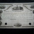 Antique LOAN OF CITY PHILADELPHIA PA 1856 Certificate