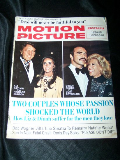 Vintage MOTION PICTURE Magazine Jul 1972 RICHARD BURTON Liz Taylor