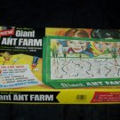 Vintage 1970s Uncle Milton's GIANT ANT-FARM Nature Toy