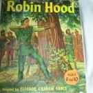 Adventures of Robin Hood Jay Hyde Barnum~Vintage Childrens Book