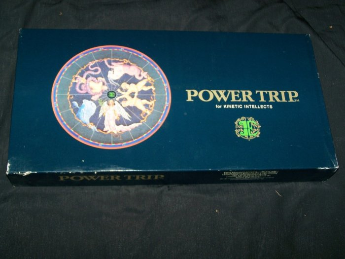 Vintage POWER TRIP Mind Intellect Trivia Board Game