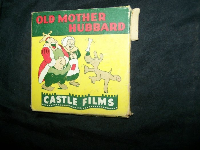 Vintage OLD MOTHER HUBBARD Castle Films 8mm Movie Reel