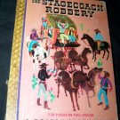 Vintage 1949 STAGECOACH ROBBERY Joe Crush Golden Story Book