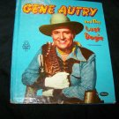 Vintage GENE AUTRY Lost Dogie Whitman Childrens Book