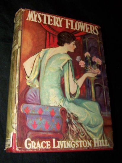 Vintage 1936 MYSTERY FLOWERS Grace Livingston Hill DJ Book
