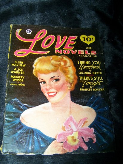 Vintage LOVE NOVELS June 1942 Pulp Magazine