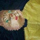 Vintage 1930s-1940s Cloth Halloween Costume LION w/Mask