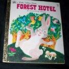 Vintage 1977 FOREST HOTEL Counting Story Little Golden Book Barbara Steinchrohn Davis Benvenuti