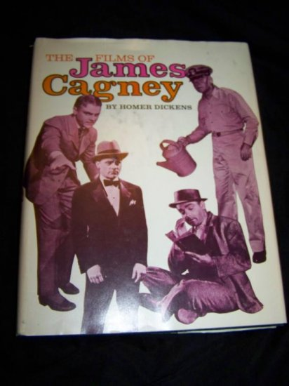 FILMS JAMES CAGNEY Homer Dickens HC/DJ Movie Book