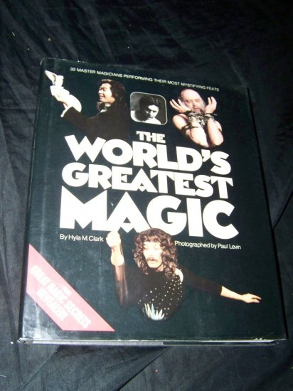 Vintage WORLD'S GREATEST MAGIC Hyla M Clark HC/DJ Book