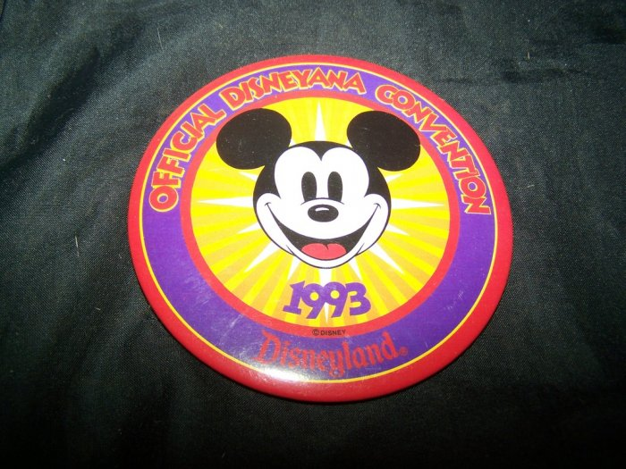 93 2nd Disney Disneyana Convention MICKEY MOUSE Badge