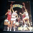 Vintage New York NY KNICKS 1974-75 Basketball Magazine