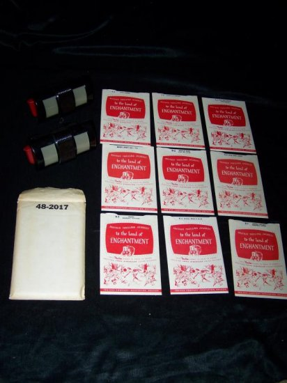RARE Vintage 1950s TRU-VUE Stereoscope Viewer & Character Reel Lot: Walt Disney, Howdy Doody