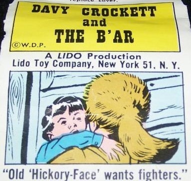 Vintage Lido DAVY CROCKETT Television film Reel Lot 3