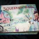 Vintage 1947 FARM ANIMALS SQUEEKUM BOOK McLoughlin~Rare