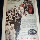 Vintage OUTLOOK Magazine Nov 27 1918 VICTROLA Print Ad
