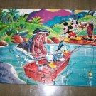 Vintage Donald Duck Disneyland Walt Disney Hippo Puzzle