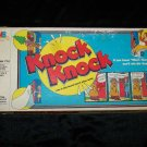 Vintage 1980s KNOCK WHO'S THERE Milton Bradley Board Game