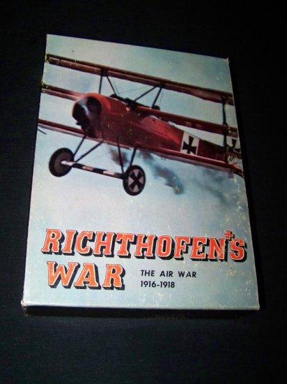 Vintage RICHTHOFEN'S WAR WW1 Avalon Hill War Board Game