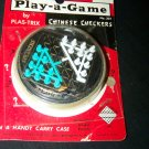 Vintage Pocket Play-a-Game Chinese Checkers #301 Plas-trix New Mint