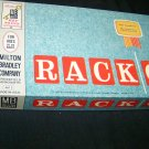 Vintage 1961 RACK-O Milton Bradley Board Game COMPLETE
