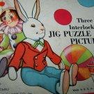 Vintage THINGS WE SEE Jig Puzzle Pictures Platt & Munk