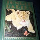 Vintage JUNGLE BABIES Edyth Kaigh-Eustace Illustrated Children's Book