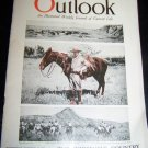 Vintage OUTLOOK Magazine Oct 19 1921 THEODORE ROOSEVELT
