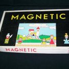 Vintage MAGNETIC Play Theatre Toy Toia Czechoslovakia