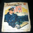 Vintage AMERICAN BOY July 1935 Magazine NAVY OFFICER