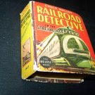 Vintage CHUCK MALLOY RAILROAD DETECTIVE by Will Gould Big Little Book