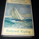 Vintage 1926 CAPTAINS COURAGEOUS Rudyard Kipling DJ Book