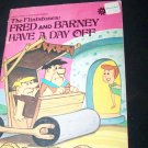 FRED AND BARNEY HAVE A DAY OFF/DINO GETS A JOB Hanna-Barbera Flintstones Book Lot