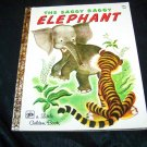 Vintage 1972 SAGGY BAGGY ELEPHANT Little Golden Book