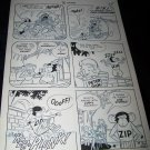 Vintage 1950s Original Comic Book Art Peter Pan ZIPPY THE CHIMP 1 p25