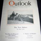 Vintage OUTLOOK Magazine Nov 28 1923 NEW SAHARA Brogues