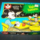 Vintage MICKEY MOUSE CLUB jacmar MAGIC SUBTRACTOR Game