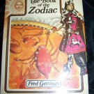 Vintage The Book of the Zodiac by Fred Gettings (1972)