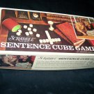 Vintage SCRABBLE SENTENCE CUBE GAME Selchow & Righter