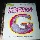 Vintage Grover's Own Alphabet 1978 Little Golden Book
