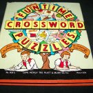 Vintage 1942 Funtime Crossword Puzzles for Juniors Book