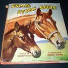 Vintage 1954 ANIMAL STORY BOOK Illustrated Platt & Munk