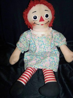 1970s cloth rag doll Etsy